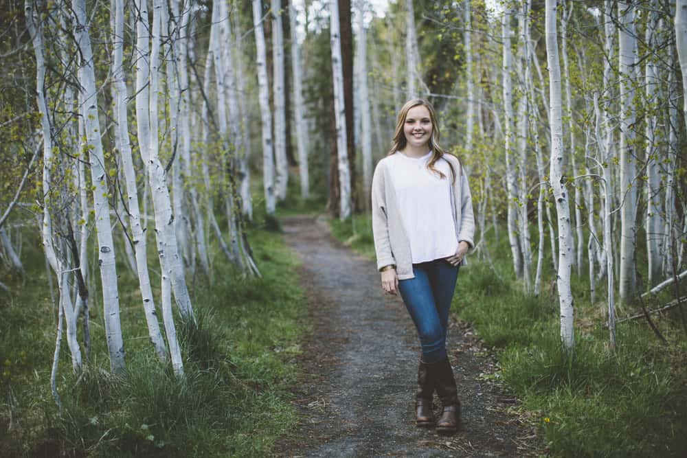1 Avery Shevlin Park Bend Oregon Senior Photos