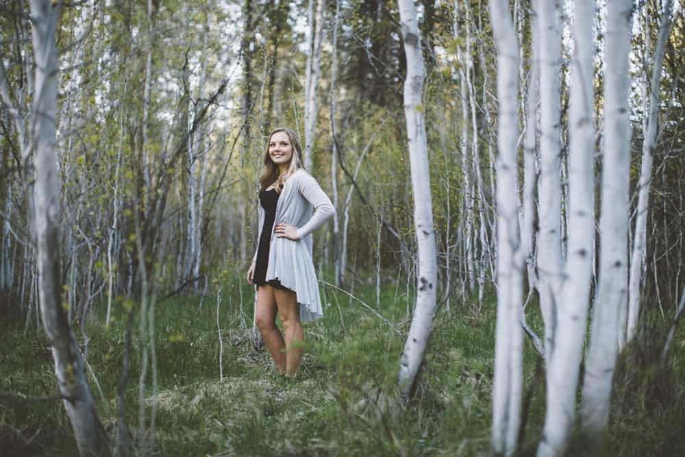 12 Avery Shevlin Park Bend Oregon Senior Photos