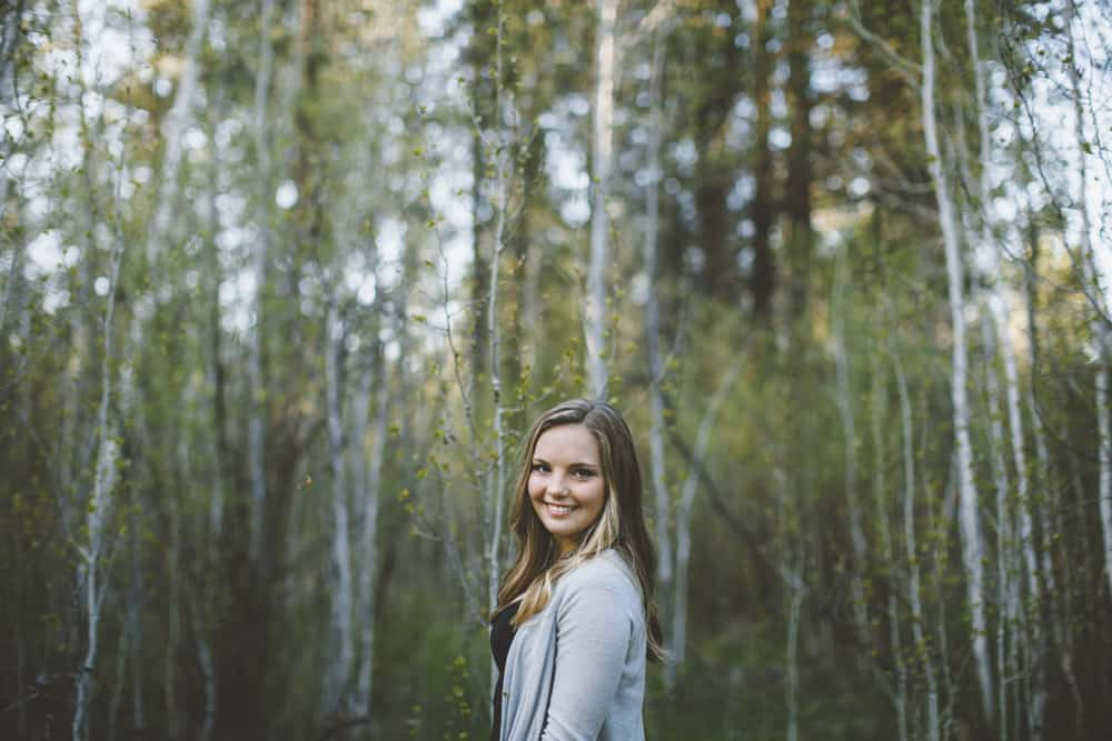 14 Avery Shevlin Park Bend Oregon Senior Photos
