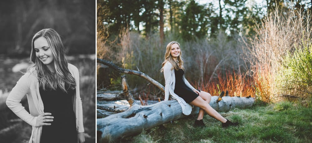15 Avery Shevlin Park Bend Oregon Senior Photos