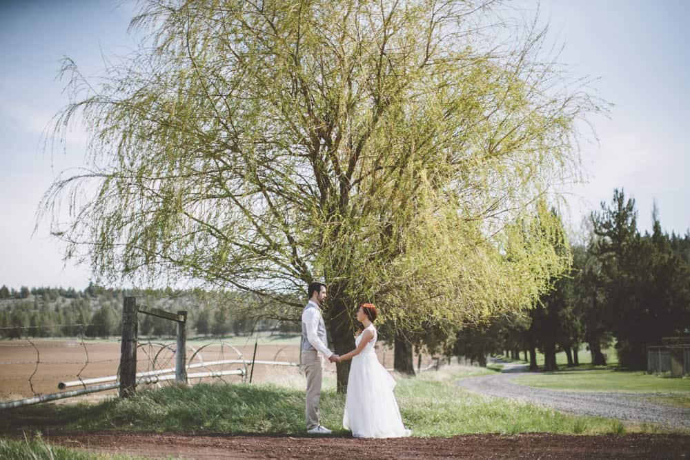 29 Heather and Jake Central Oregon Rustic Barn Wedding