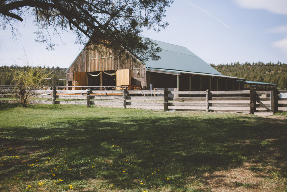 6 Heather and Jake Central Oregon Rustic Barn Wedding