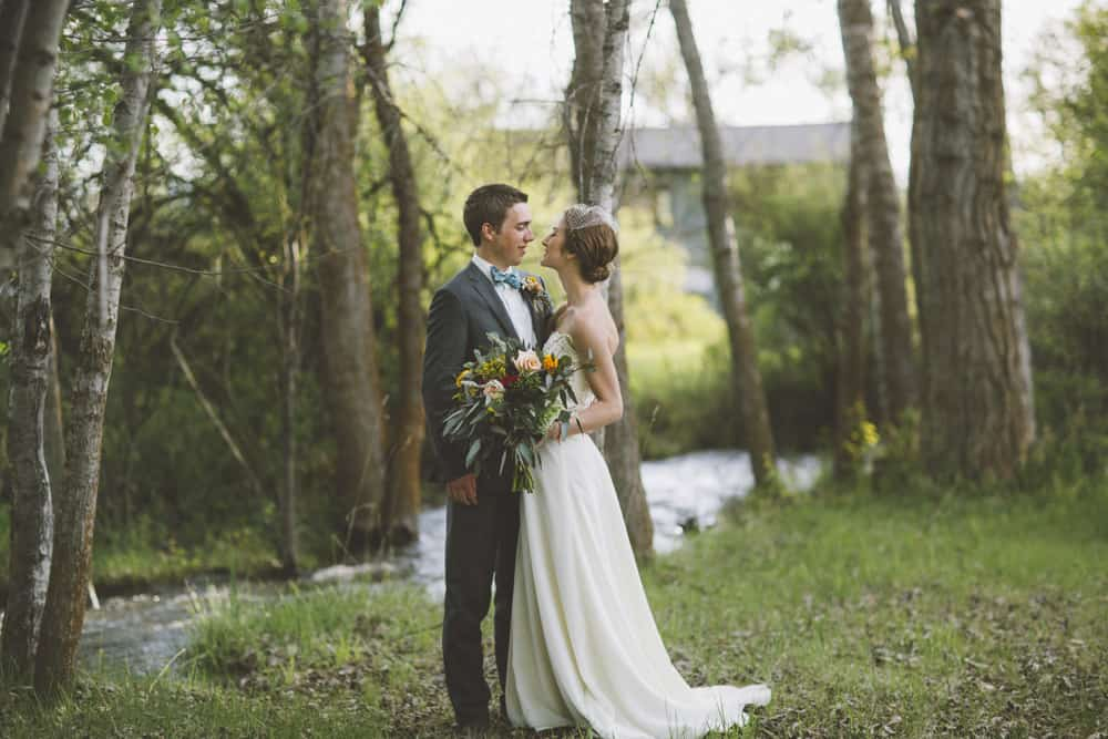 17 Sarah Forest Montana Backyard Wedding