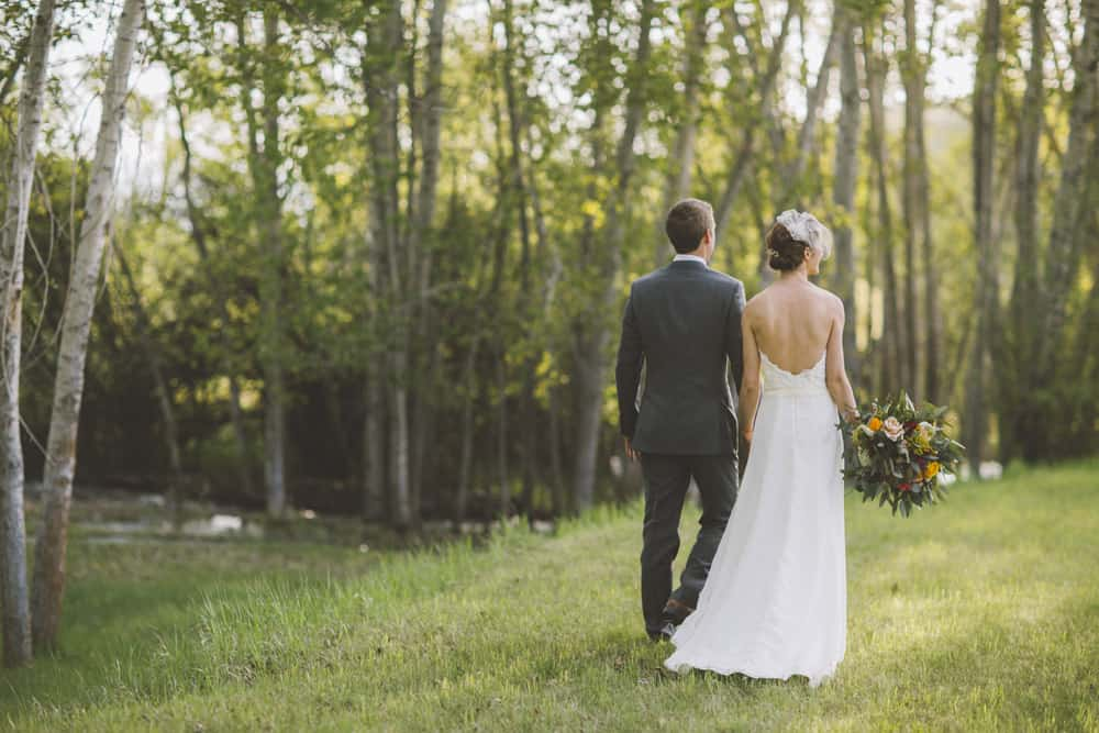 21 Sarah Forest Montana Backyard Wedding