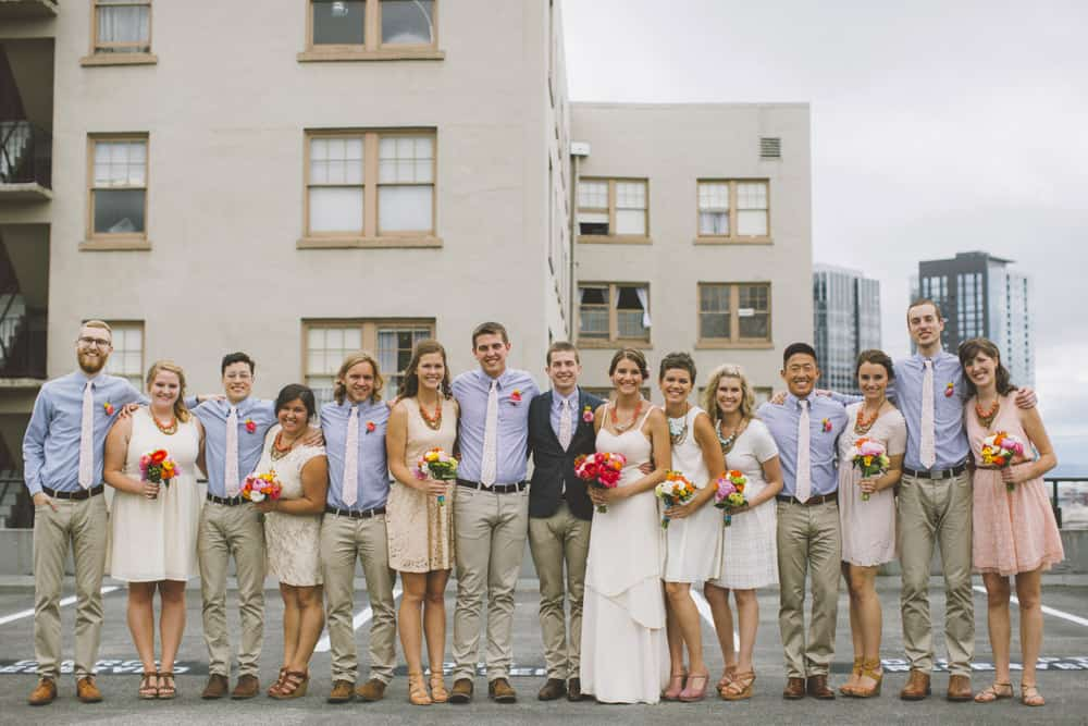 Seattle Capitol Hill Indie Wedding Blog 73