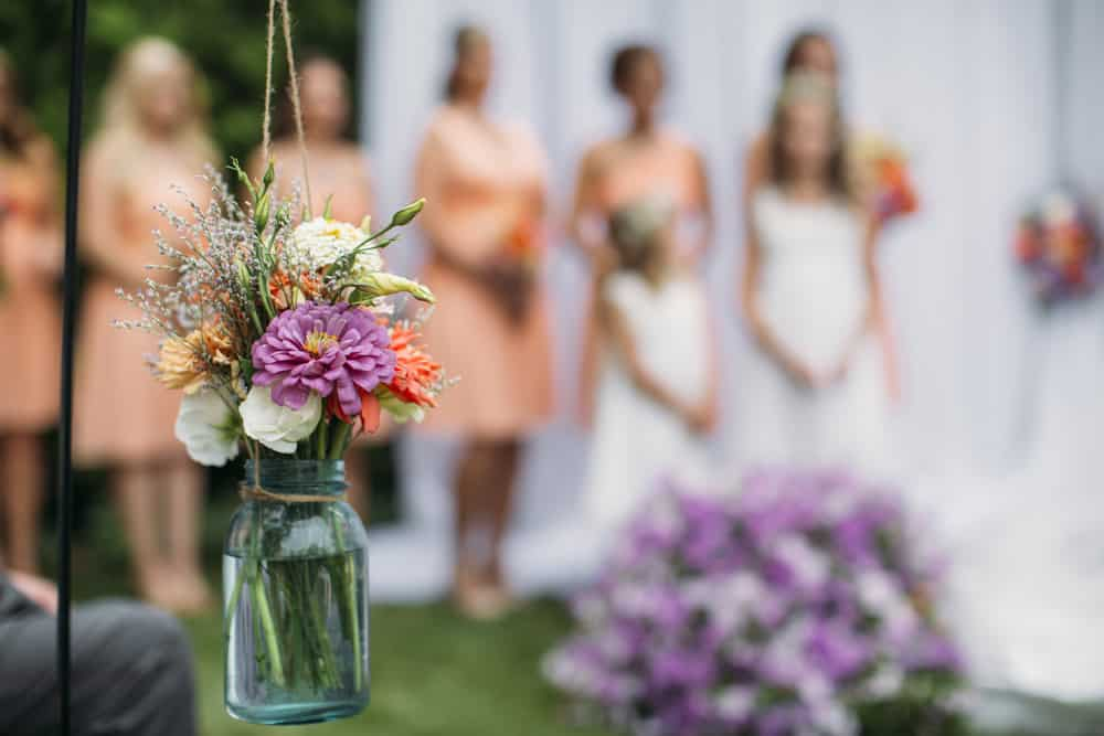 Heather Adam Grandview Farm Backyard Elegant Summer Wedding 0036