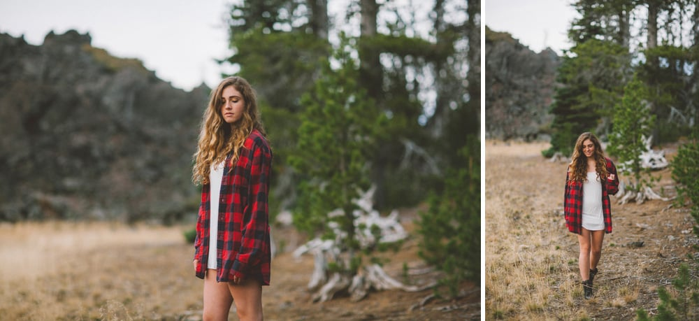 Central Oregon Sisters Bend Senior Session Outdoor Lake Lava Flow Adventure 014