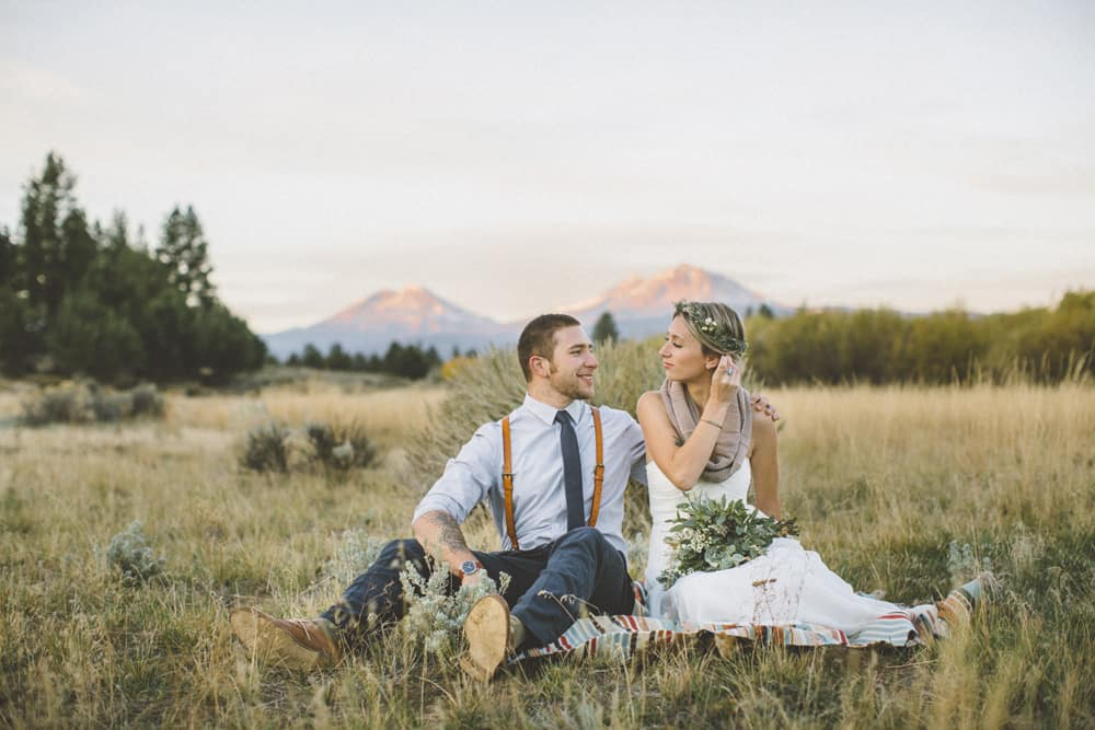 Victoria Carlson Green Wedding Shoes Stylish Mountain Meadow Elopement 006