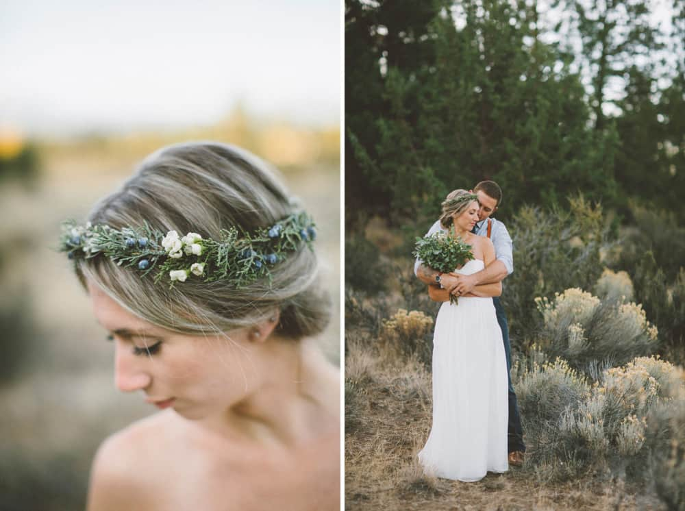 Victoria Carlson Green Wedding Shoes Stylish Mountain Meadow Elopement 013