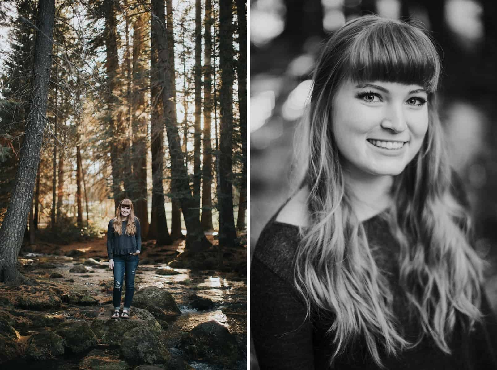 Bend Oregon Black Butte Ranch Senior Session 0002