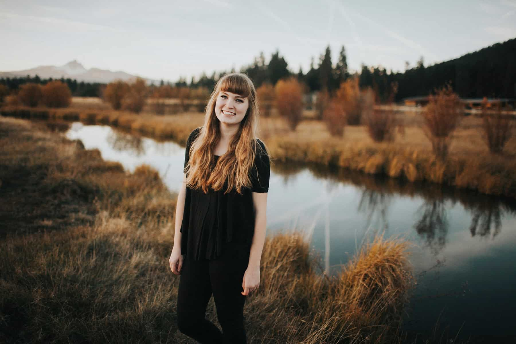 Bend Oregon Black Butte Ranch Senior Session 0007