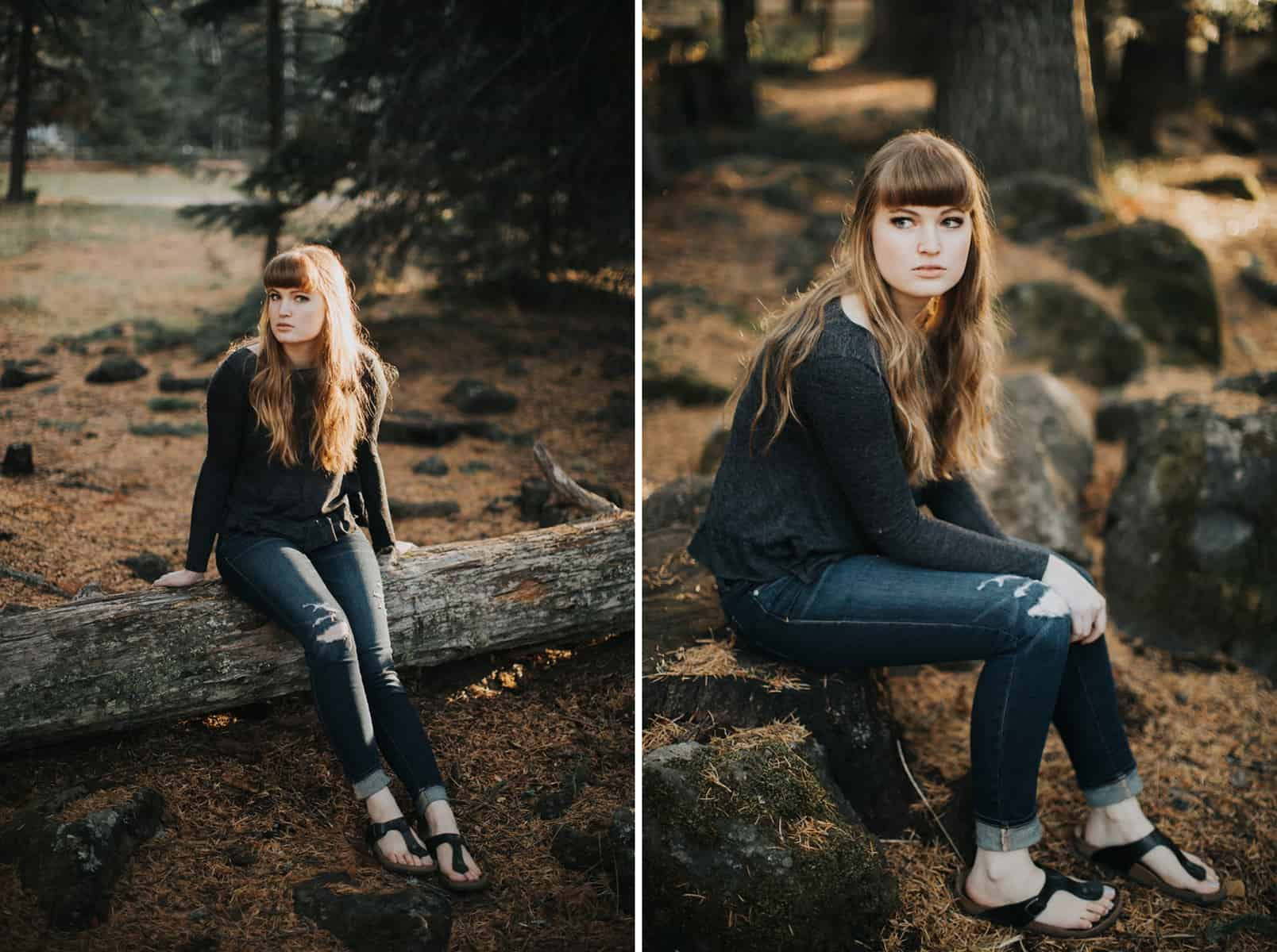 Bend Oregon Black Butte Ranch Senior Session 0008