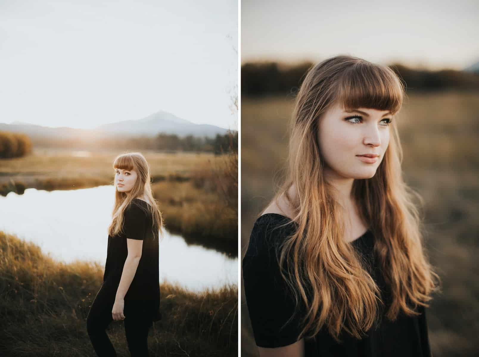 Bend Oregon Black Butte Ranch Senior Session 0012