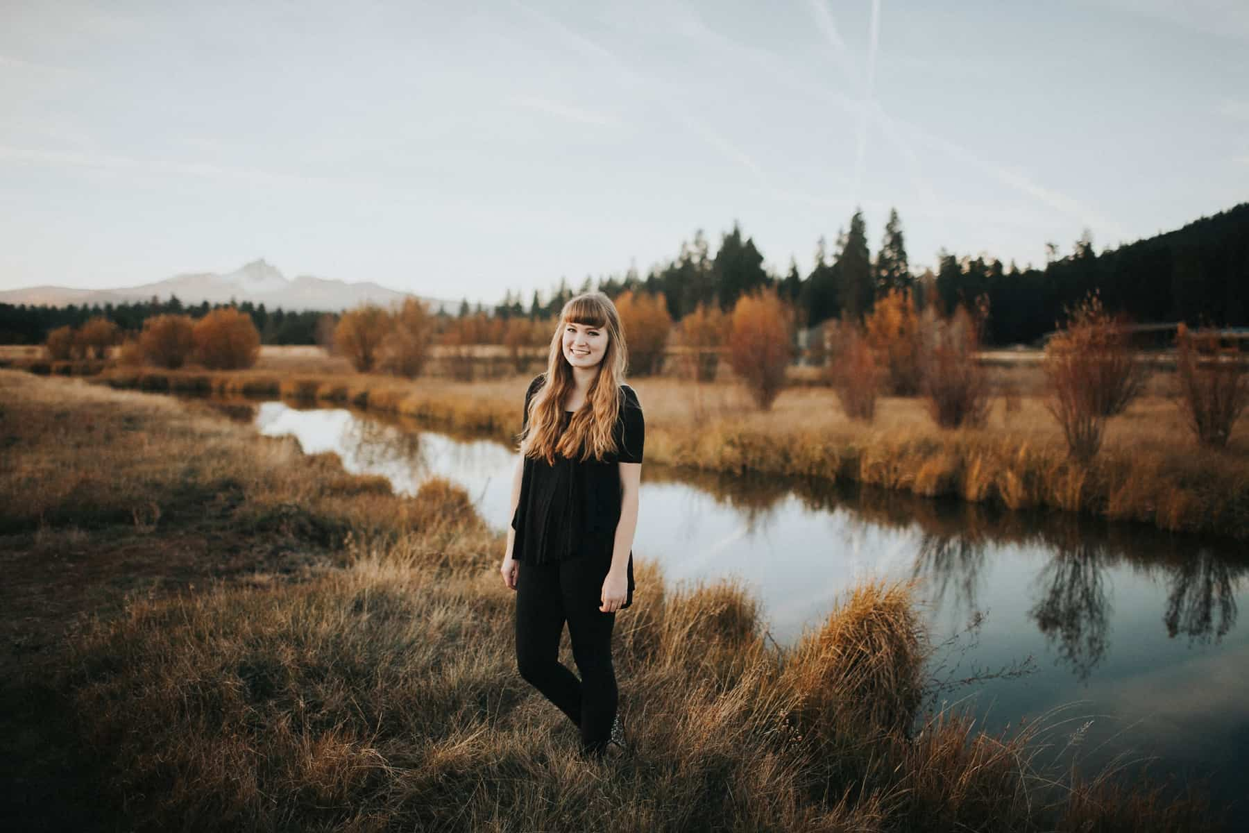 Bend Oregon Black Butte Ranch Senior Session 0013