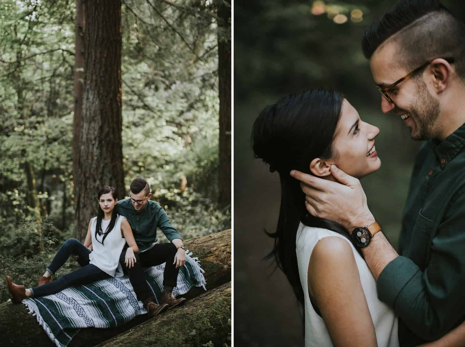 Portland Oregon Hoyt Arboretum Engagement Session 0019