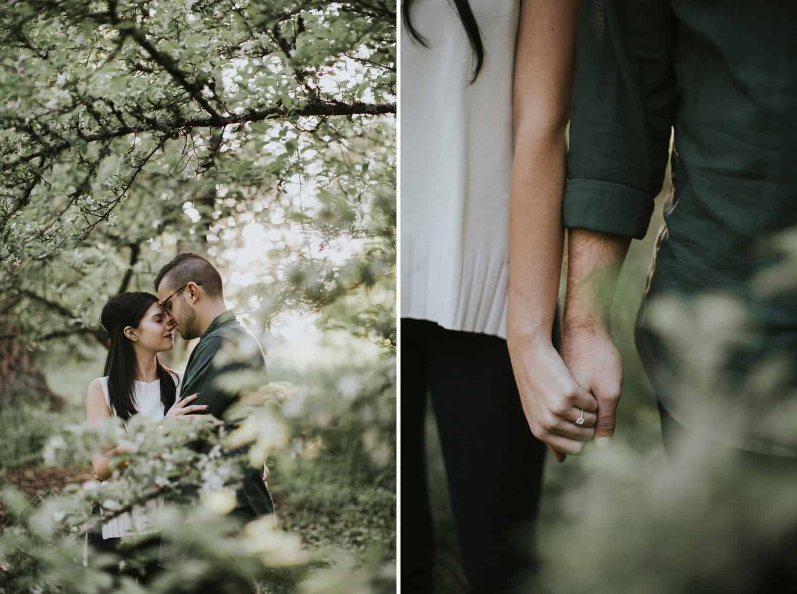 Portland Oregon Hoyt Arboretum Engagement Session 0023