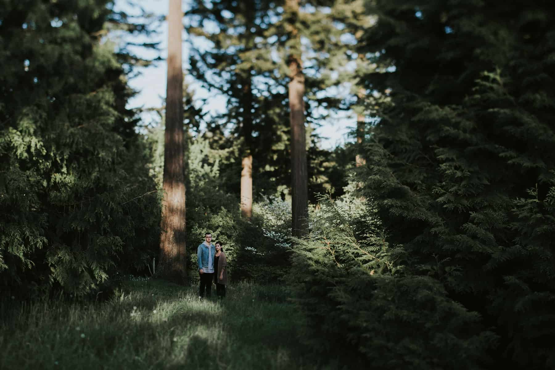 Portland Oregon Hoyt Arboretum Engagement Session 0035