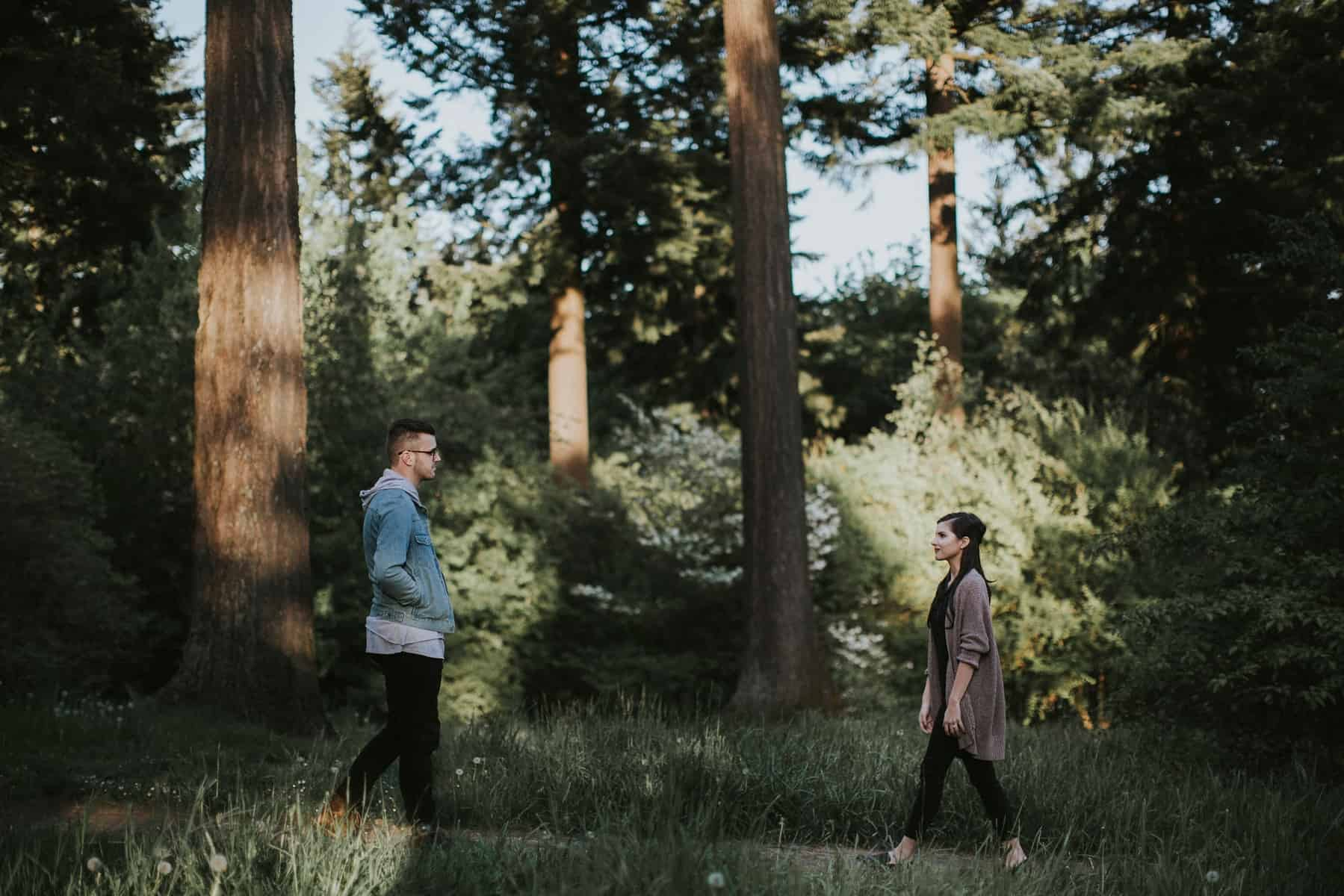 Portland Oregon Hoyt Arboretum Engagement Session 0036