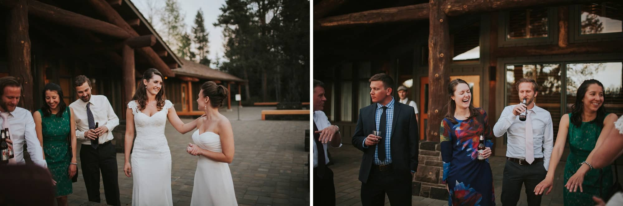 Sara Emily Sunriver Bend Oregon Rustic Lodge Wedding 0066