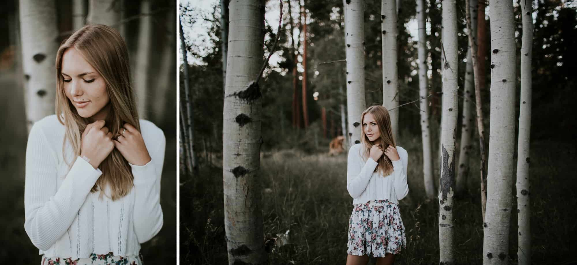 Victoria Carlson Bend Central Oregon Senior Photos Black Butte Ranch 0009