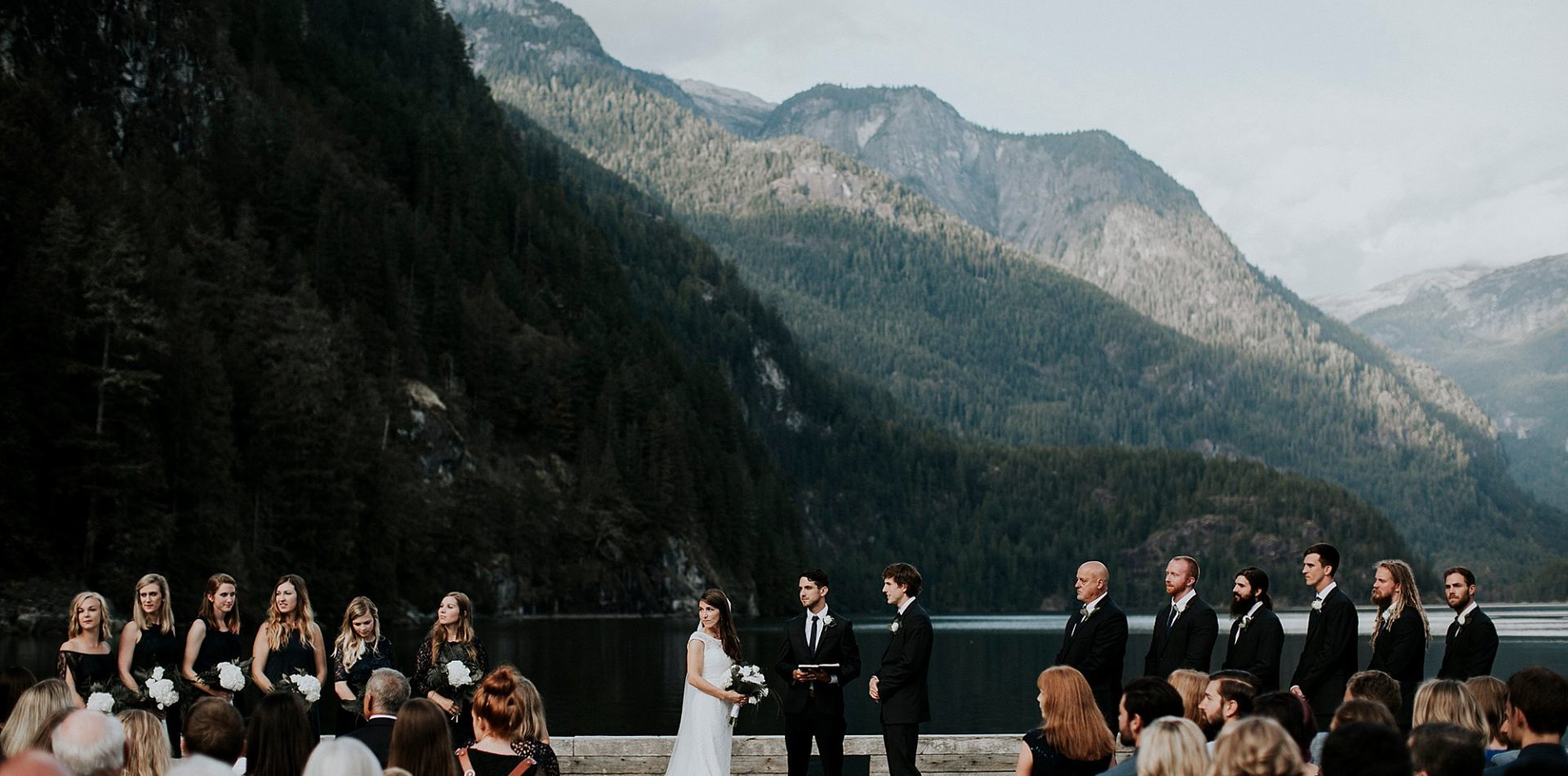 Mike + Emma || Pacific Northwest British Columbia Wedding