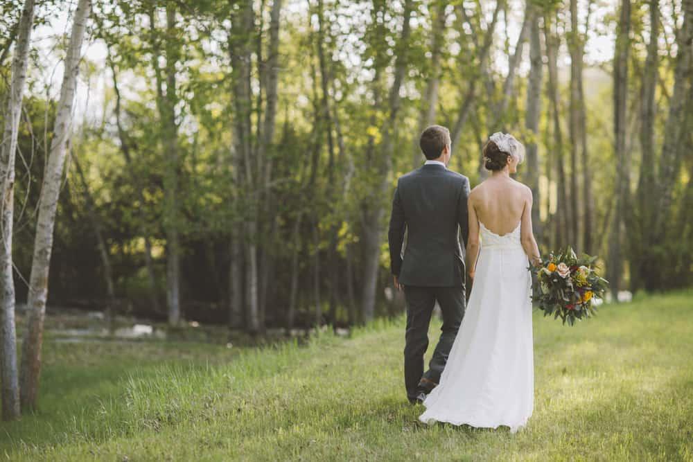 21 Sarah Forest Montana Backyard Wedding