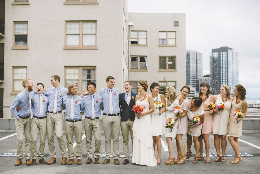 Seattle Capitol Hill Indie Wedding Blog 65