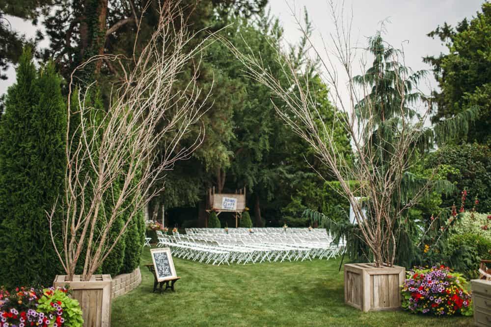 Heather Adam Grandview Farm Backyard Elegant Summer Wedding 0005