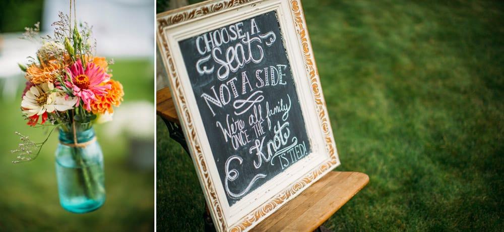 Heather Adam Grandview Farm Backyard Elegant Summer Wedding 0007