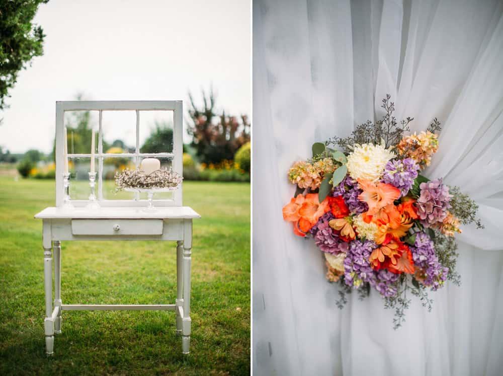 Heather Adam Grandview Farm Backyard Elegant Summer Wedding 0009