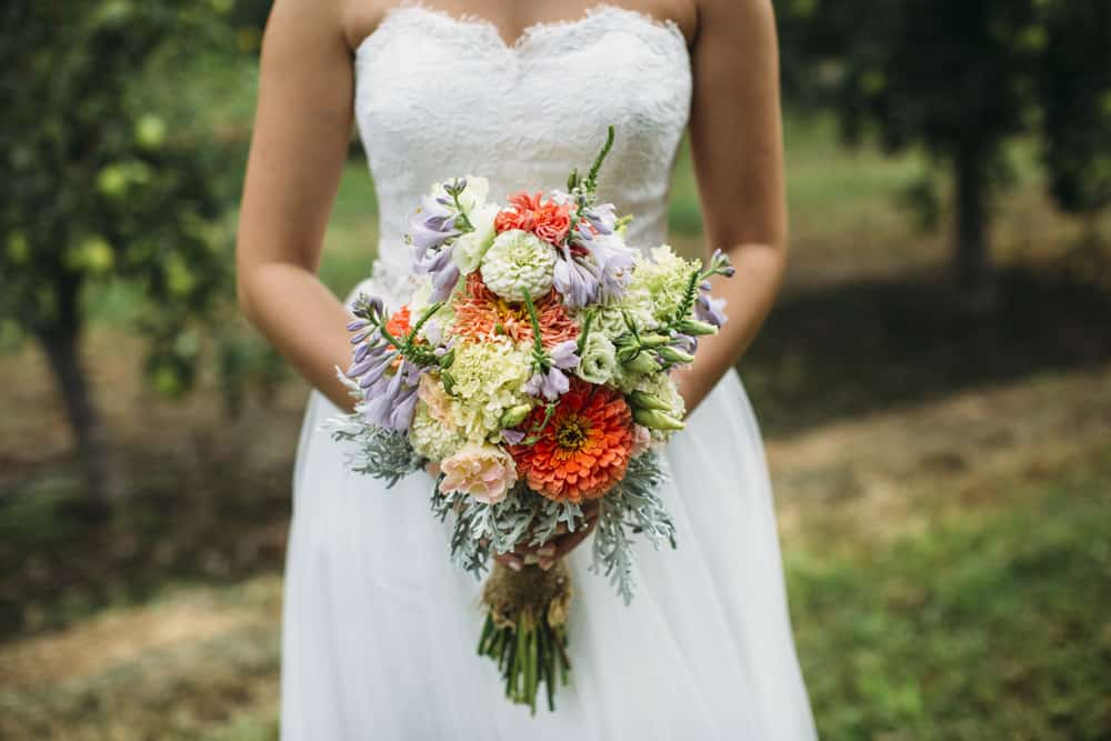 Heather Adam Grandview Farm Backyard Elegant Summer Wedding 0014