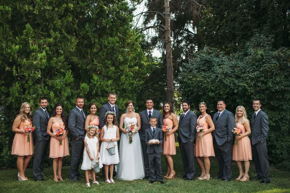 Heather Adam Grandview Farm Backyard Elegant Summer Wedding 0027