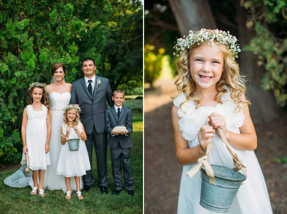 Heather Adam Grandview Farm Backyard Elegant Summer Wedding 0031