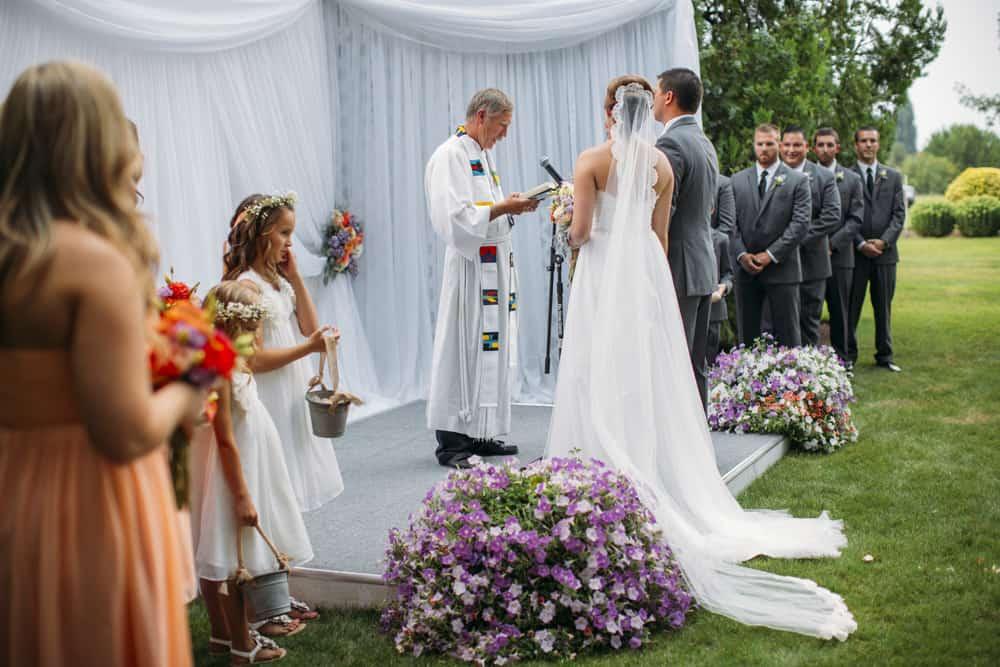 Heather Adam Grandview Farm Backyard Elegant Summer Wedding 0032