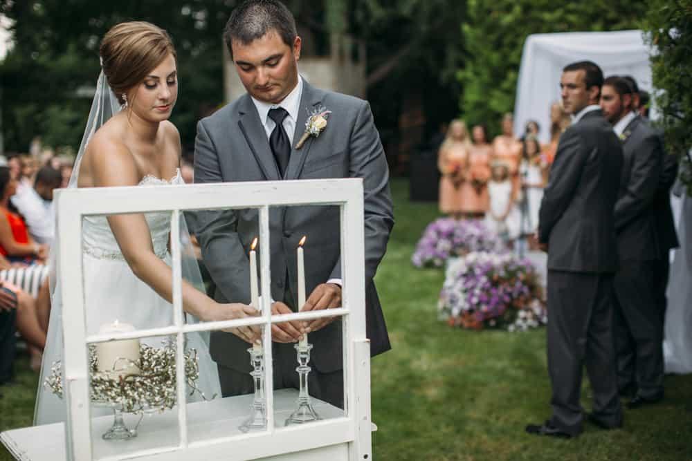 Heather Adam Grandview Farm Backyard Elegant Summer Wedding 0034