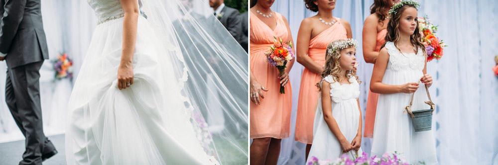 Heather Adam Grandview Farm Backyard Elegant Summer Wedding 0035