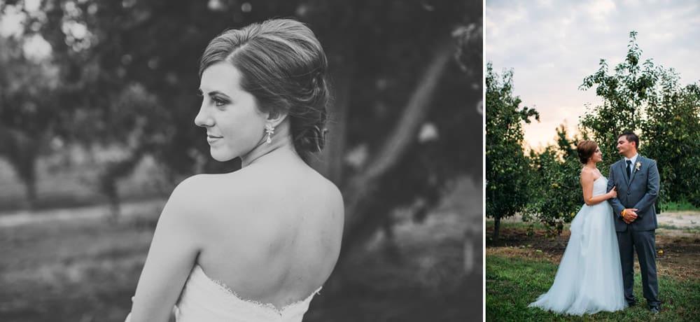 Heather Adam Grandview Farm Backyard Elegant Summer Wedding 0065