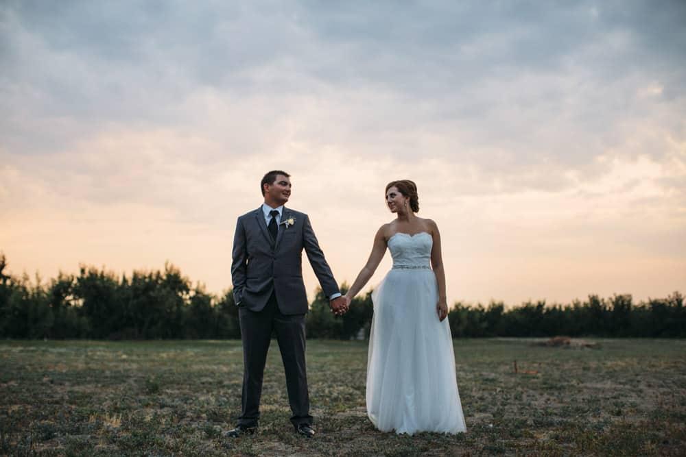 Heather Adam Grandview Farm Backyard Elegant Summer Wedding 0084