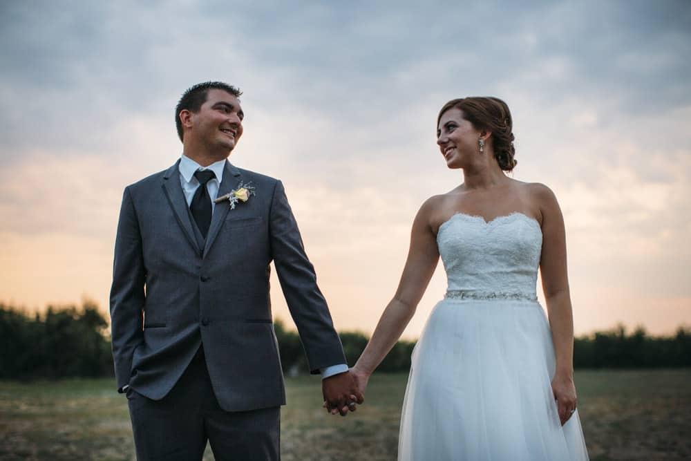 Heather Adam Grandview Farm Backyard Elegant Summer Wedding 0085