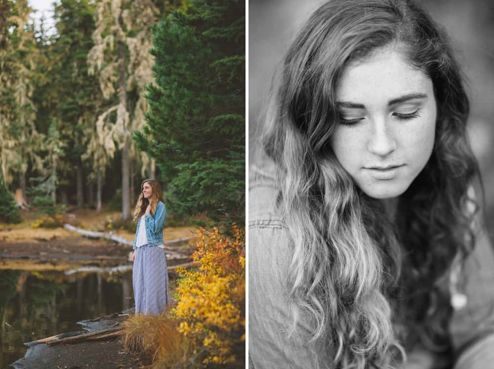 Central Oregon Sisters Bend Senior Session Outdoor Lake Lava Flow Adventure 006