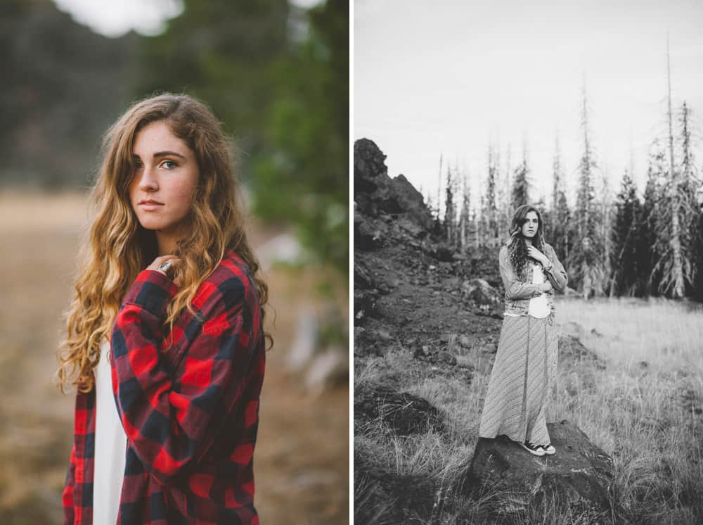 Central Oregon Sisters Bend Senior Session Outdoor Lake Lava Flow Adventure 009