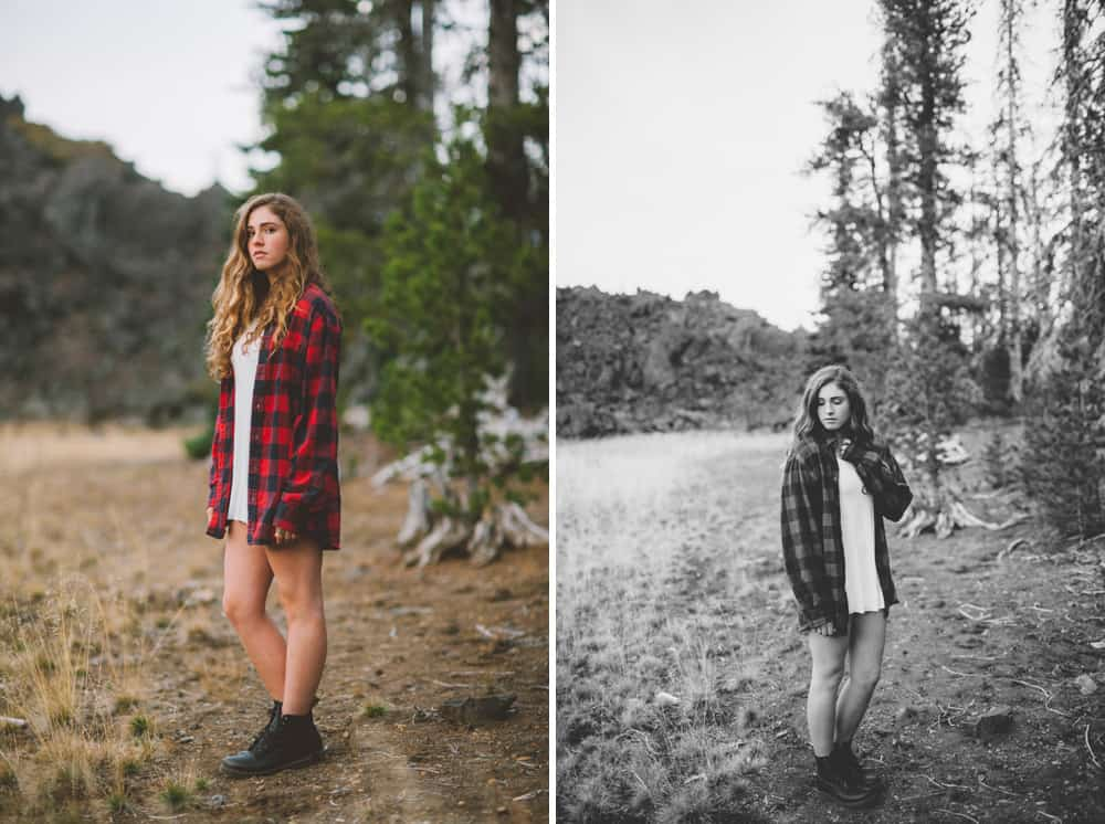 Central Oregon Sisters Bend Senior Session Outdoor Lake Lava Flow Adventure 012