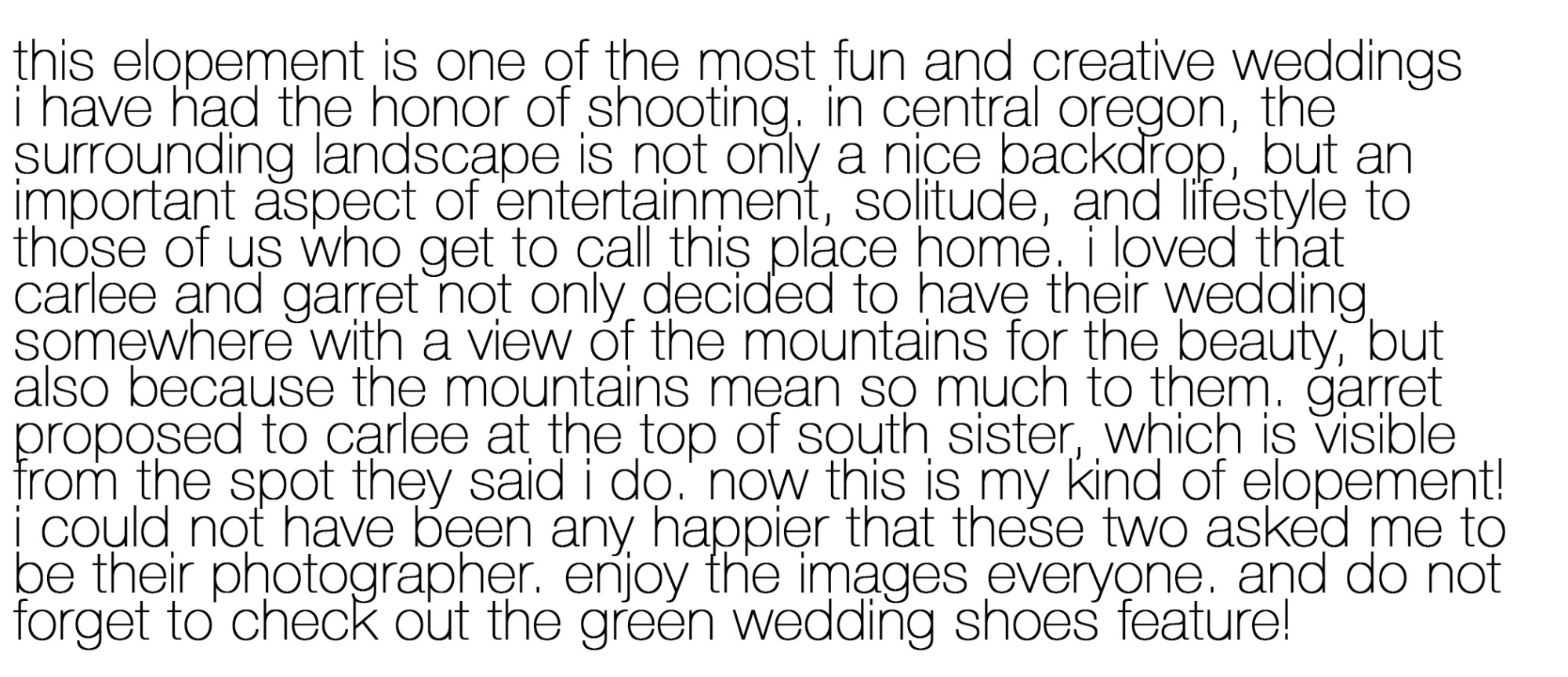 Green Wedding Shoes Feature Victoria Carlson Story 2