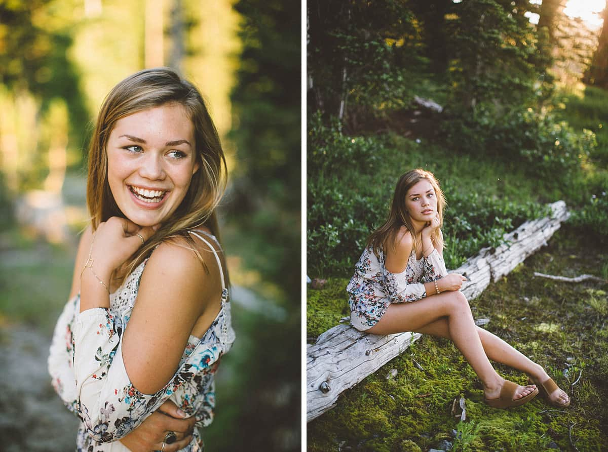 Bend Oregon Senior Photos Victoria Carlson 1