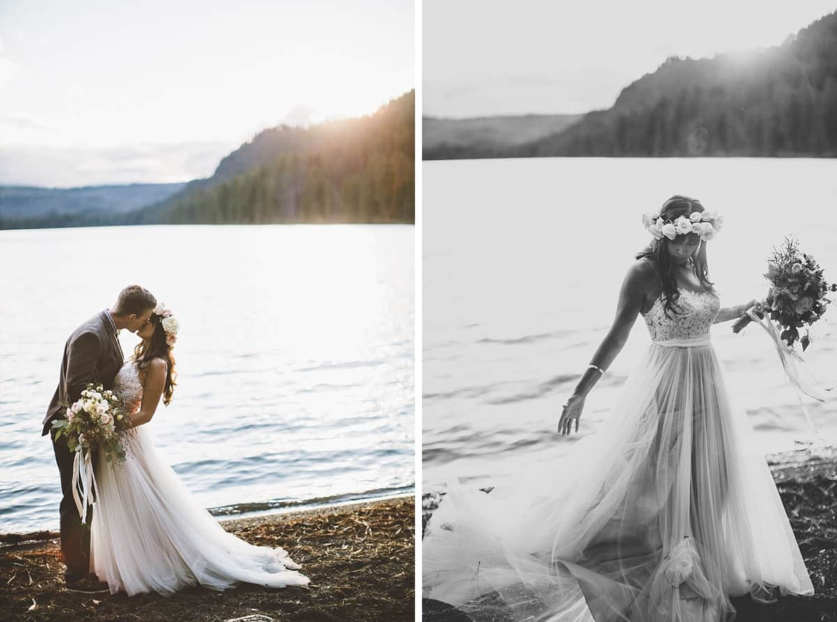 Suttle Lake Wedding Central Oregon Bend Sisters Victoria Carlson Photography Wedding 0073
