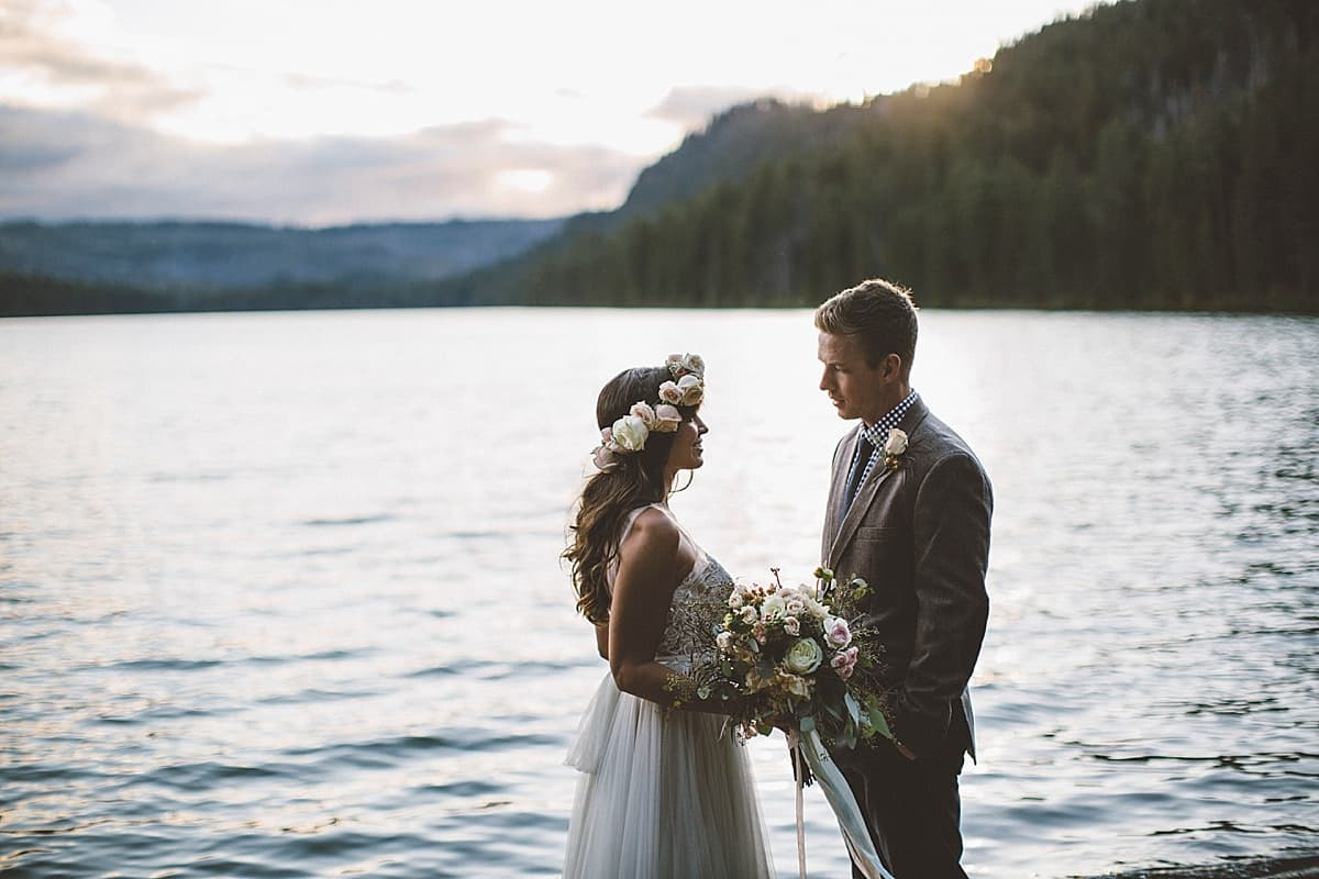 Suttle Lake Wedding Central Oregon Bend Sisters Victoria Carlson Photography Wedding 0077