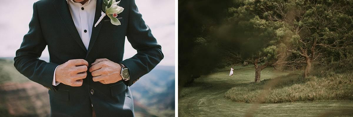 Kauai Waimea Canyon Hawaii Wedding Elopement 0002