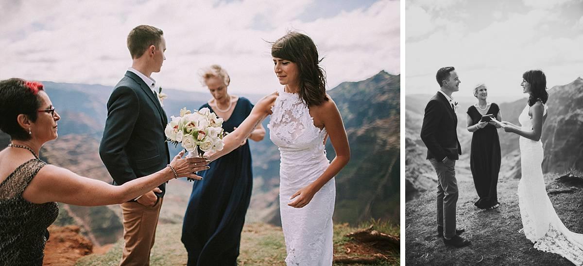 Kauai Waimea Canyon Hawaii Wedding Elopement 0009