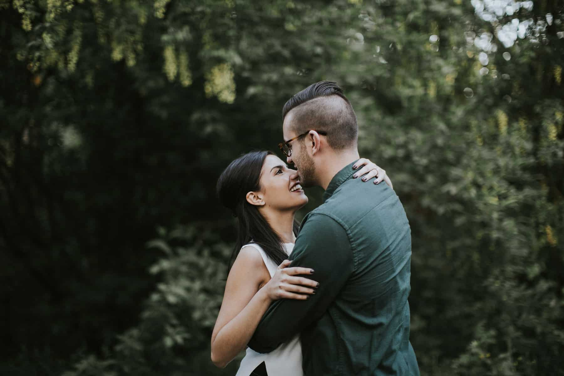 Portland Oregon Hoyt Arboretum Engagement Session 0014