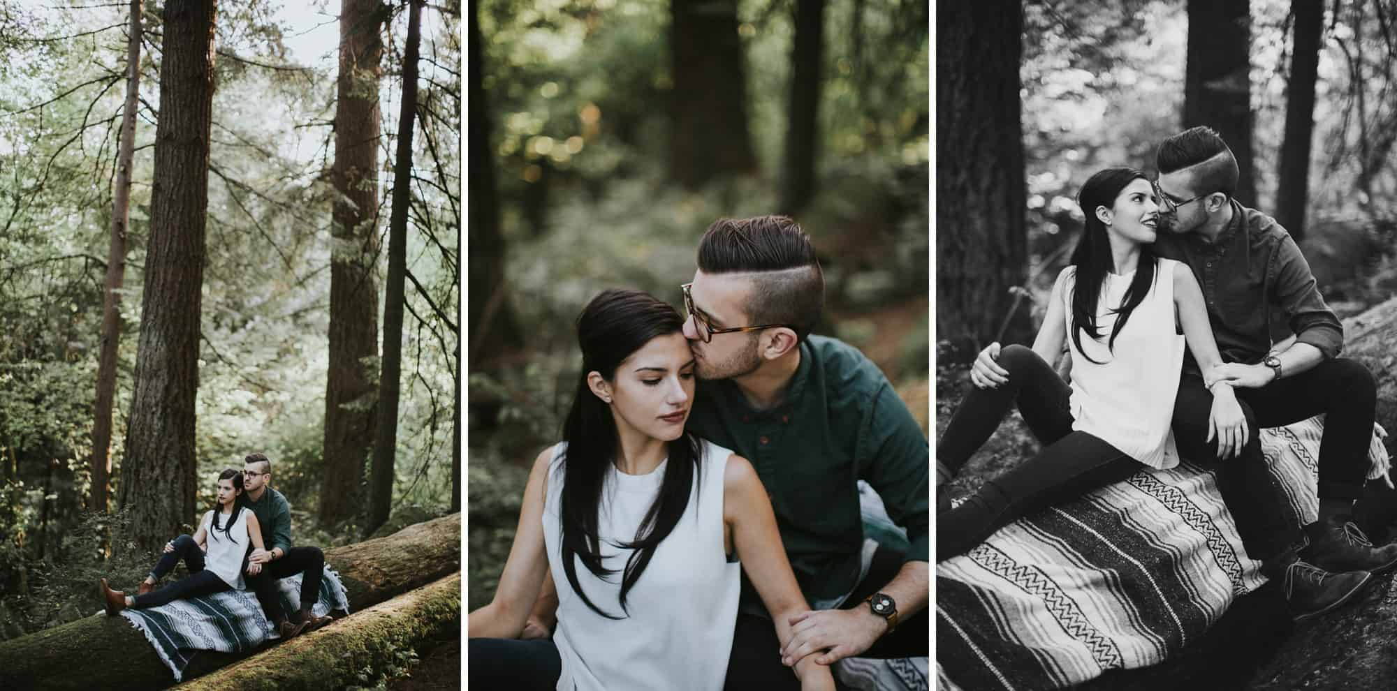 Portland Oregon Hoyt Arboretum Engagement Session 0020